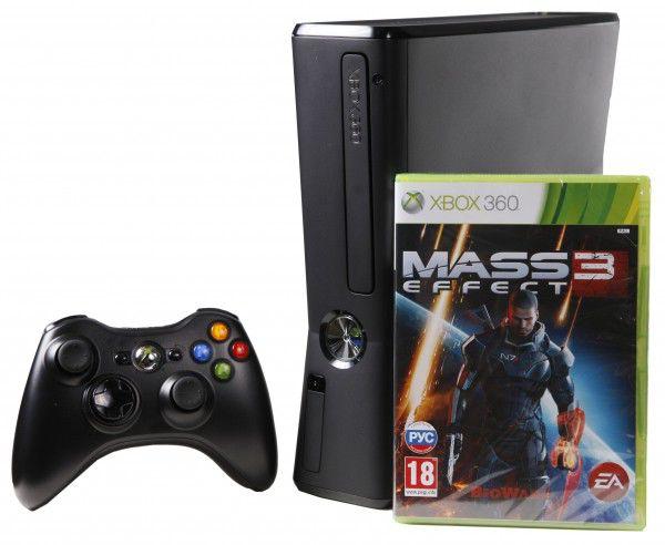 Игровая консоль MICROSOFT Xbox 360 черный