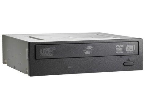 Оптический привод DVD-RW HP внутренний, SATA, черный,  OEM [qs208aa]
