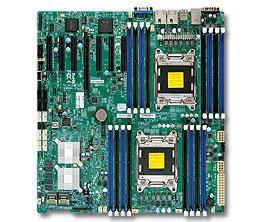 Серверная материнская плата SUPERMICRO MBD-X9DRH-7TF-O,  Ret