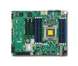 Серверная материнская плата SUPERMICRO MBD-X9SRI-3F-O,  Ret