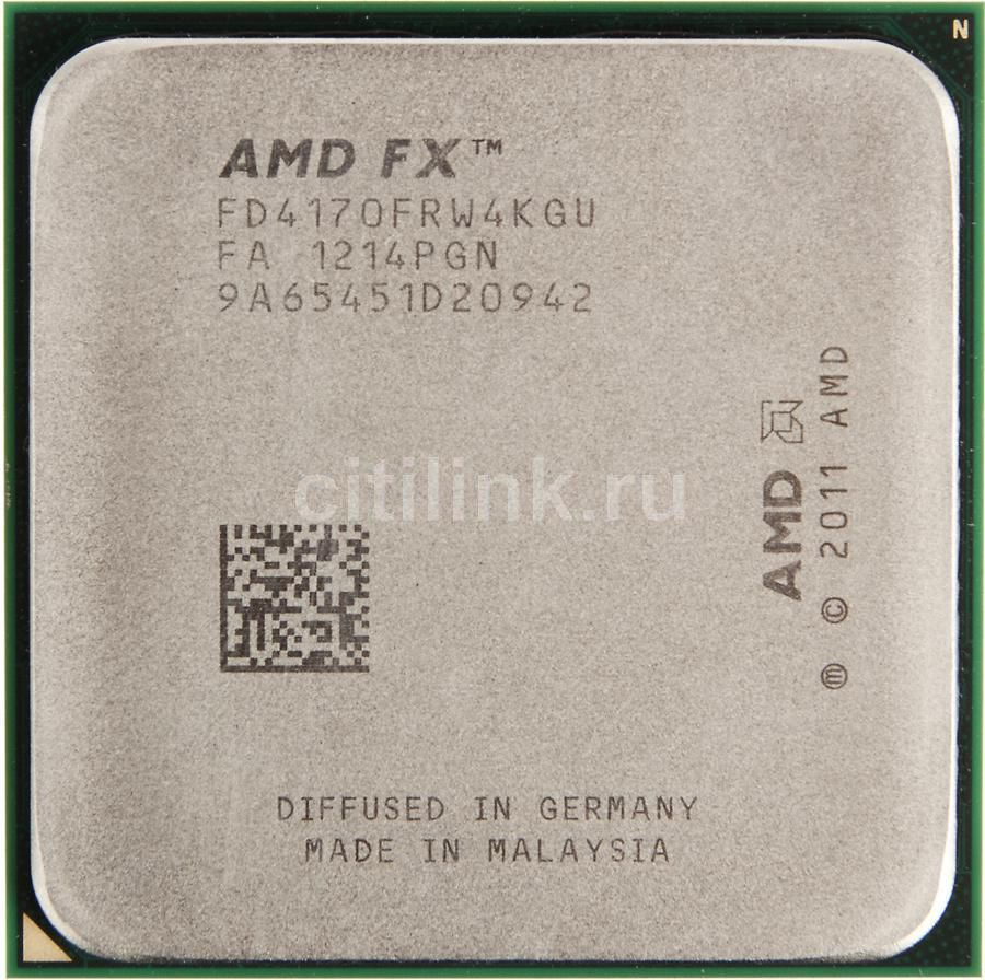 Процессор AMD FX 4170, SocketAM3+ OEM [fd4170frw4kgu]