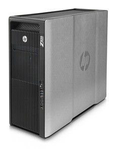 Рабочая станция  HP Z820,  Intel  Xeon  E5-2643,  DDR3 16Гб, 1Тб,  DVD-RW,  CR,  Windows 7 Professional,  черный [wm442ea]
