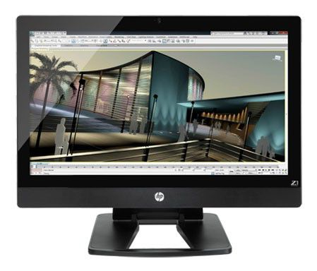 Моноблок HP Z1, Intel Core i3 2120, 4Гб, 1000Гб, Intel HD Graphics 2000, DVD-RW, Windows 7 Professional, черный [wm430ea]