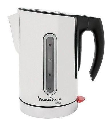 Чайник электрический MOULINEX BY 5200, 3000Вт, серебристый