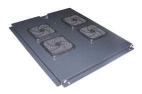 Блок 6-и вентиляторов TWT (TWT-CBB-FANB6-8) в крышу шкафа Business глубиной 800. шнур 1.8м