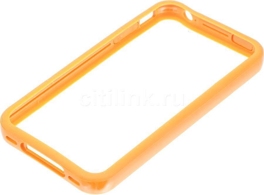 Бампер DEPPA для Apple iPhone 4/4S, оранжевый