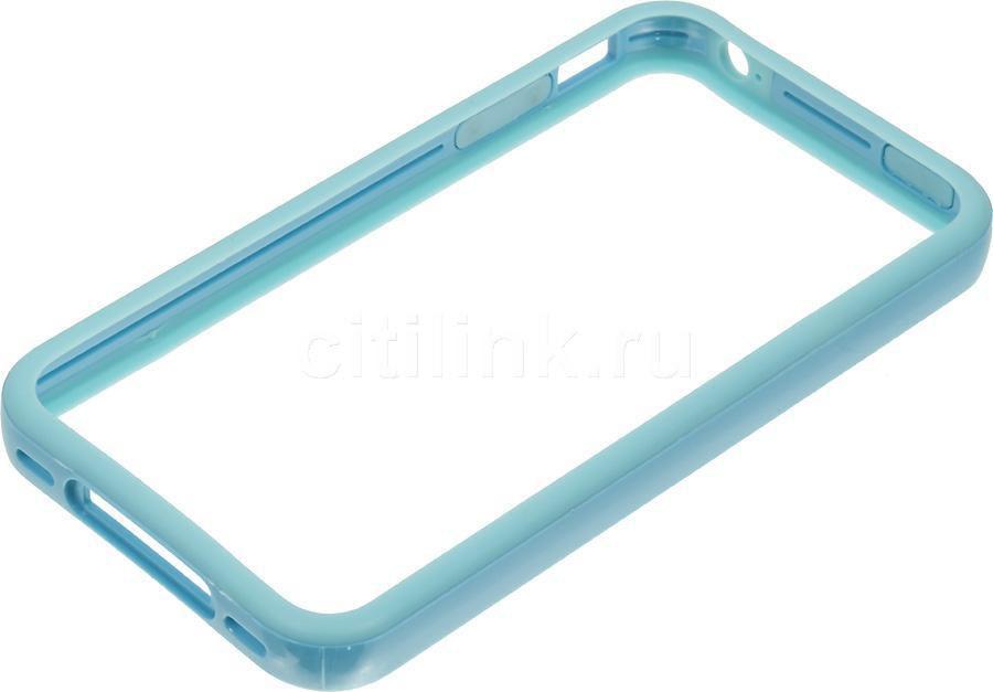 Бампер DEPPA для Apple iPhone 4/4S, синий