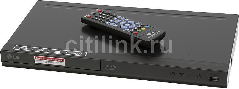 Плеер Blu-ray LG BP120, черный