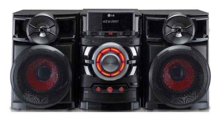 Музыкальный центр LG CM4320,  черный