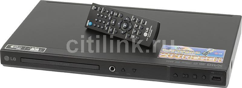 DVD-плеер LG DP527C,  черный,  диск 200 песен