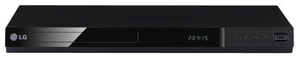 DVD-плеер LG DP522,  черный