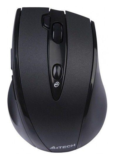Мышь A4 G10-770H оптическая беспроводная USB, черный