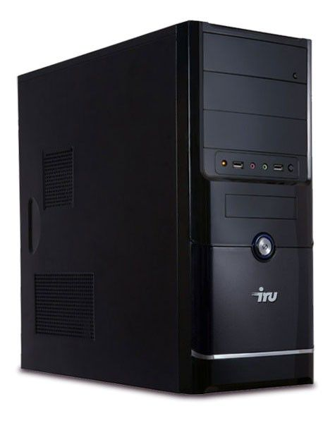 Компьютер  IRU Ergo 901,  Intel  Core i3  2120,  4Гб, 500Гб,  DVD-RW,  Windows 7 Professional