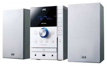 Музыкальный центр JVC UX-G395WE,  светло-серый