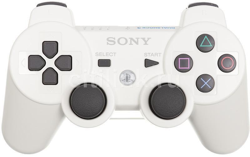 Беспроводной контроллер SONY Dualshock 3, для  PlayStation 3, белый [ps719289814]