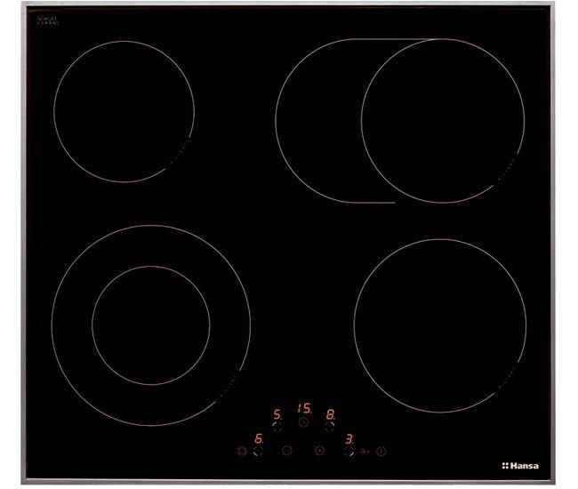 Варочная панель HANSA BHCI 63706,  Hi-Light,  независимая,  черный