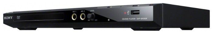 DVD-плеер SONY DVP-SR550K,  черный,  диск 500 песен