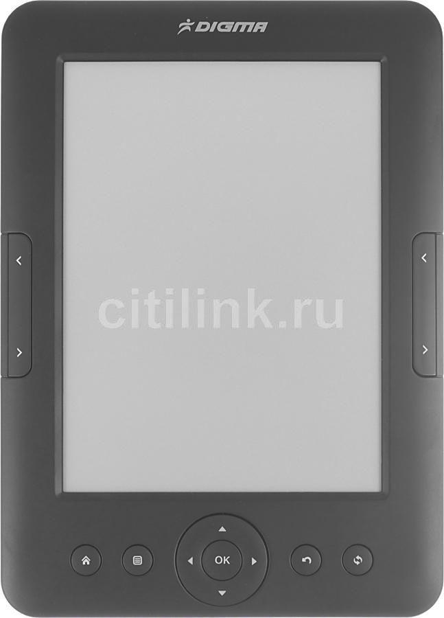 """Электронная книга DIGMA e605,  6"""", черный"""