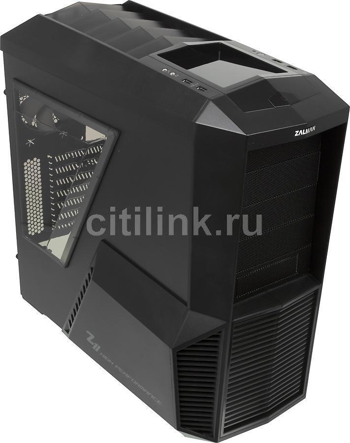 Корпус ATX ZALMAN Z11, Midi-Tower, без БП,  черный