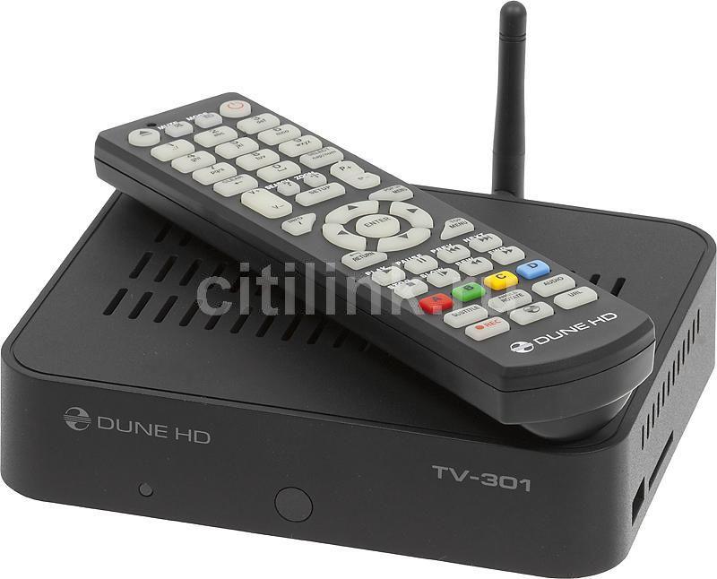 Медиаплеер DUNE HD TV-301AW,  черный