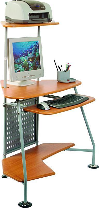 Стол компьютерный  БЮРОКРАТ DL-G09,  угловой,  вишня