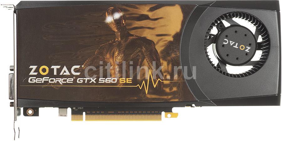 Видеокарта ZOTAC GeForce GTX 560 SE,  1Гб, GDDR5, Ret [zt-50901-10m]