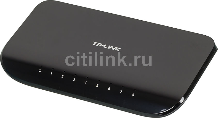 Коммутатор TP-LINK TL-SG1008D адаптер power over ethernet tp link tl poe10r