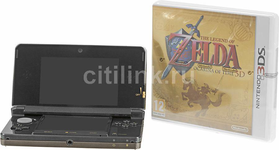 Игровая консоль NINTENDO 3DS 104918, черный