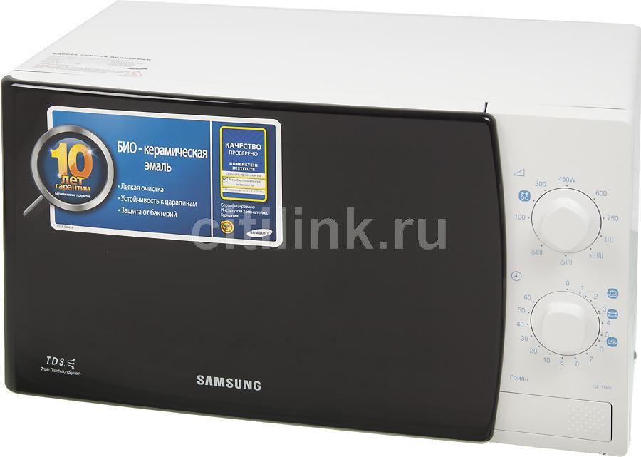 Микроволновая печь SAMSUNG GE711KR, белый