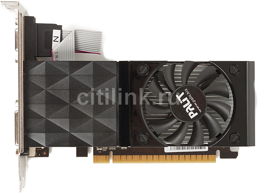 Видеокарта PALIT GeForce GT 630,  PA-GT630-1GD3,  1Гб, DDR3, oem [neat630nhd01-1070f bulk]