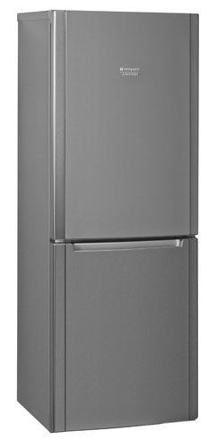 Холодильник HOTPOINT-ARISTON HBM 1161.2 X,  двухкамерный, серебристый