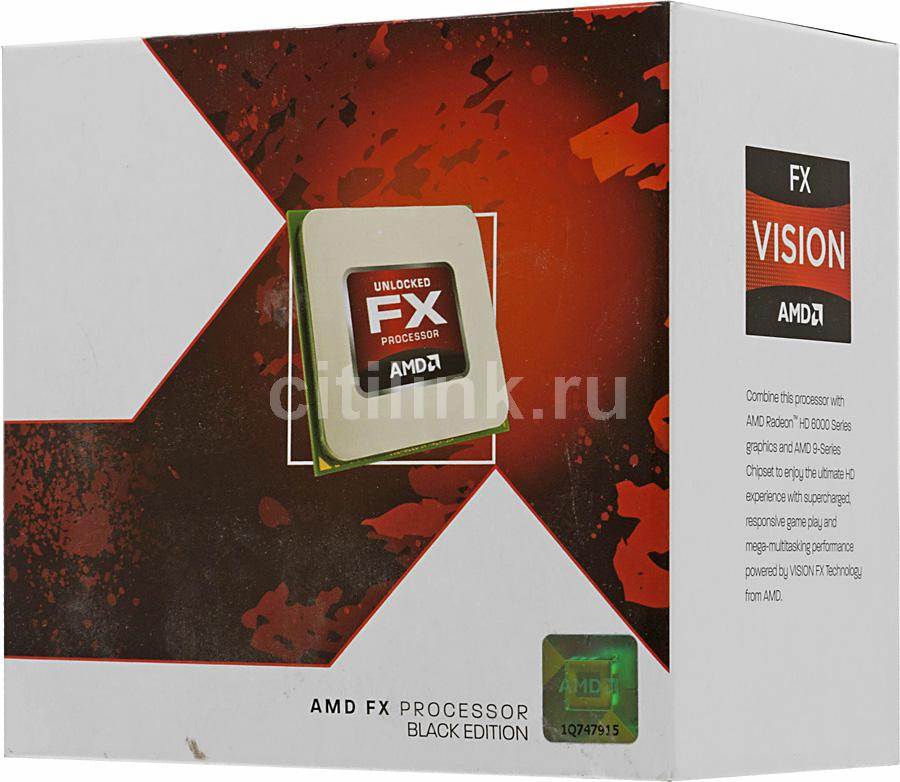 Процессор AMD FX 4170, SocketAM3+ BOX [fd4170frgubox]