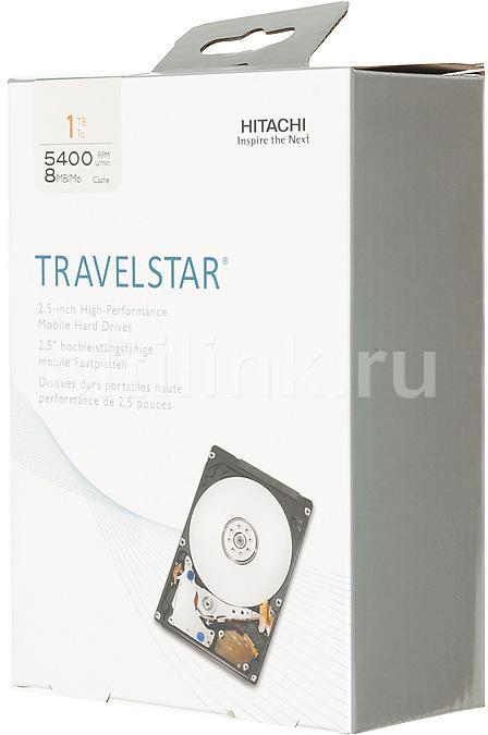 Жесткий диск HITACHI H2IK10003254SE,  1Тб,  HDD,  SATA II,  2.5