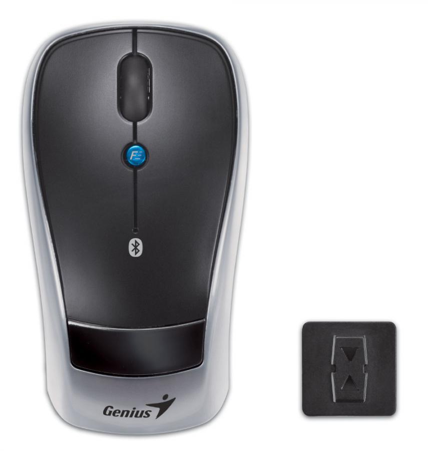 Мышь GENIUS Navigator 905 оптическая беспроводная черный и серебристый [31030037102]