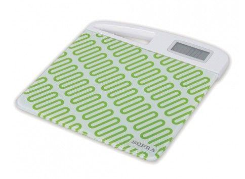 Напольные весы SUPRA BSS-2060, до 150кг, цвет: зеленый/белый [bss-2060 green]