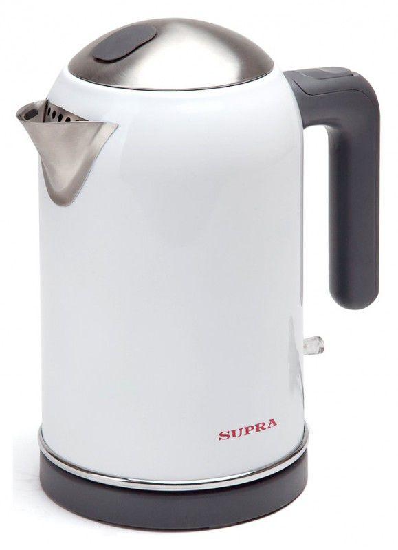 Чайник электрический SUPRA KES-1733, 2000Вт, белый