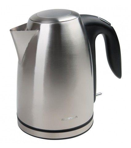 Чайник электрический SUPRA KES-1707, 2000Вт, серебристый