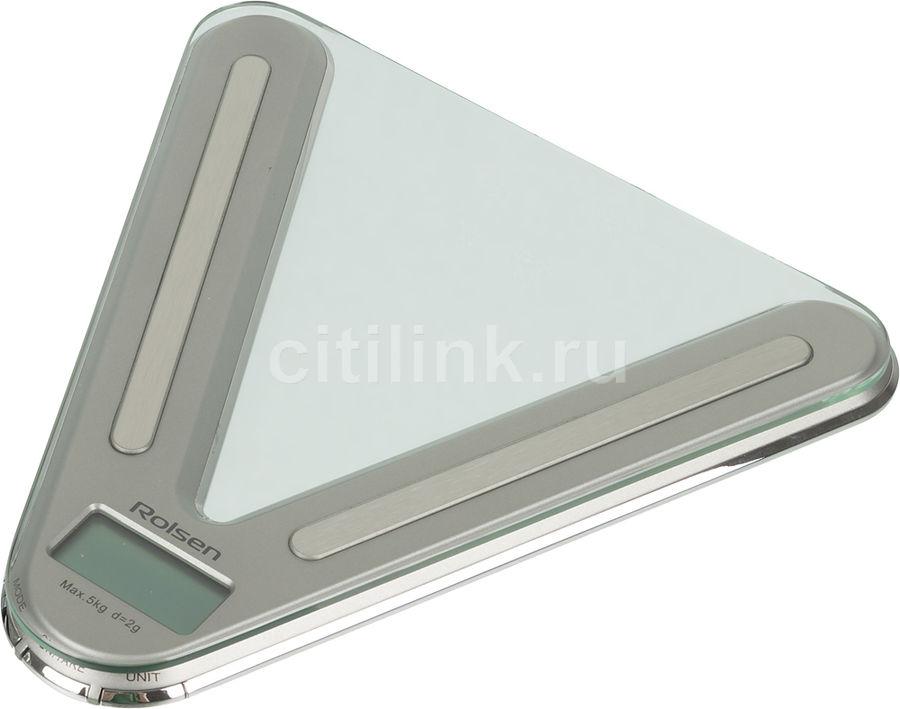 Весы кухонные ROLSEN KS-2908,  серый