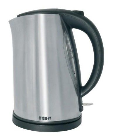 Чайник электрический MYSTERY MEK-1613, 2000Вт, серебристый