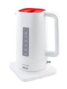 Чайник электрический MYSTERY MEK-1618, 2200Вт, белый