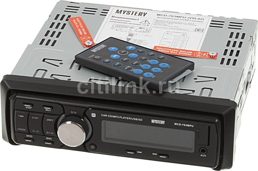 Автомагнитола MYSTERY MCD-763MPU,  USB,  SD