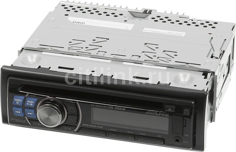 Автомагнитола ALPINE CDE-100EUB,  USB