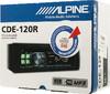 Автомагнитола ALPINE CDE-120R,  USB вид 7
