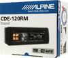 Автомагнитола ALPINE CDE-120RM,  USB вид 7