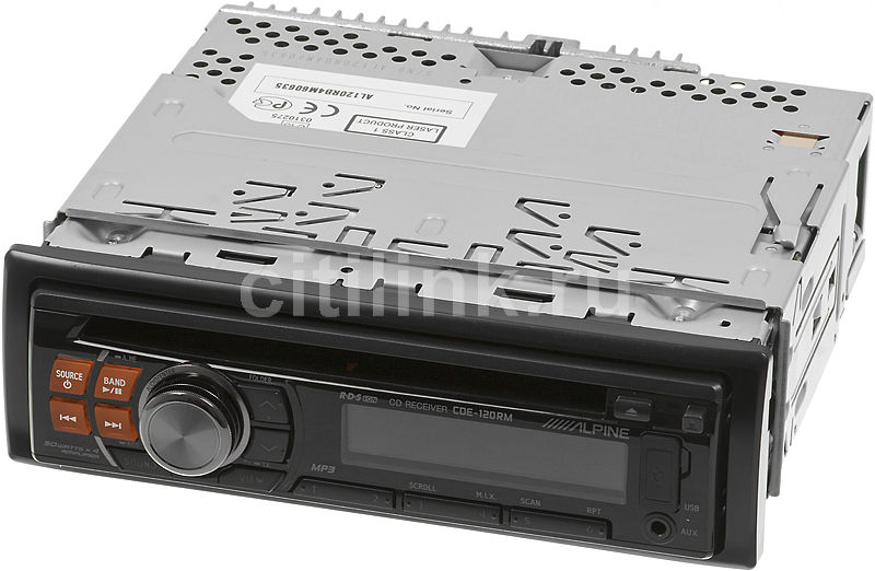 Автомагнитола ALPINE CDE-120RM,  USB
