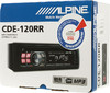 Автомагнитола ALPINE CDE-120RR,  USB вид 7