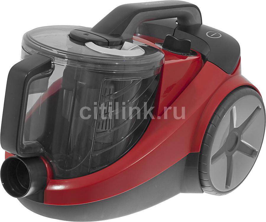 Пылесос PHILIPS PowerPro FC8760, 2000Вт, красный