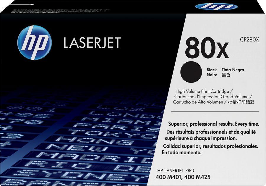 Картридж HP 80X CF280X,  черный