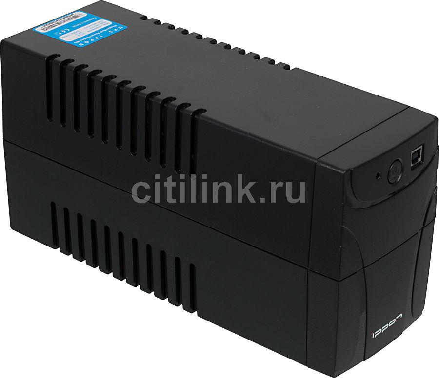 Источник бесперебойного питания IPPON Back Power Pro 400 New,  400ВA [9e62-33021-f0]