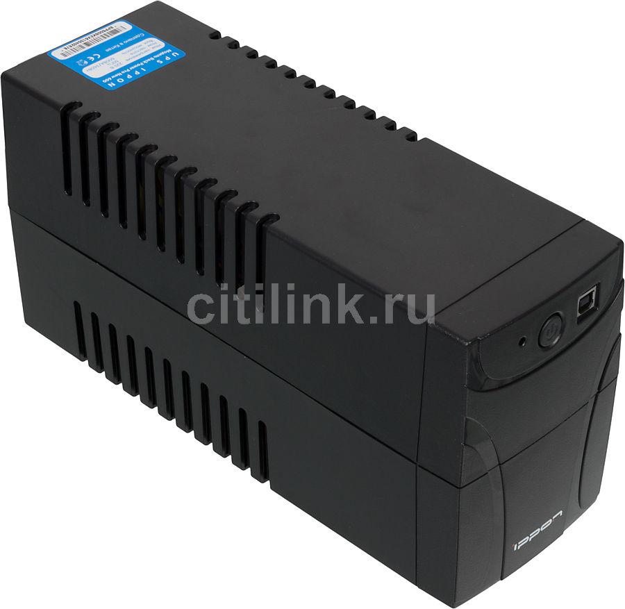 Источник бесперебойного питания IPPON Back Power Pro 600 New,  600ВA [9e62-43125-f0]